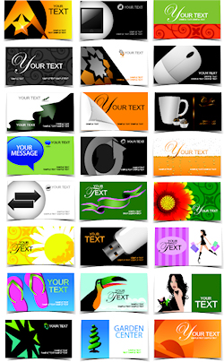 Image: Variety of Business Cards
